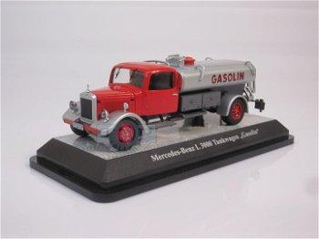 Modell-LKW:Mercedes-Benz L 3000 Tankwagen - Gasolin -(Premium ClassiXXs, 1:43)