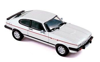 Modellauto:Ford Capri III von 1984, weiß(Norev, 1:43)