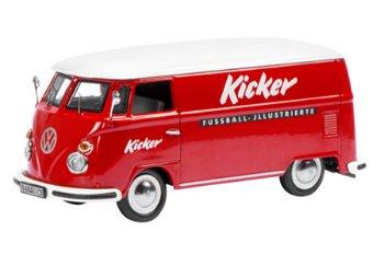 Modellauto:VW Bus T1 Kastenwagen- Kicker Sportmagazin -(Schuco, 1:43)