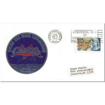 Weltraum: Viking 2 auf dem Mars - Brief, USA