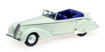 Modellauto:First Class CollectionLancia Astura Tipo 233 Corto von 1936, weiß(Minichamps, 1:18)