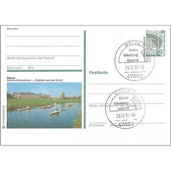 4179 Weeze/Niederrhein - Bildpostkarte