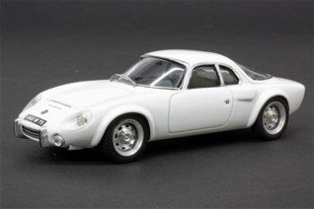 Modellauto:Matra Djet 5S von 1965, weiß(Bizarre, 1:43)