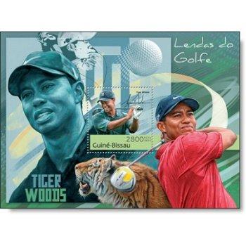 Golf - Briefmarken-Block postfrisch, Katalog-Nr. 6265, Guinea-Bissau