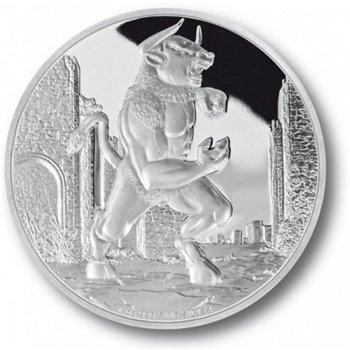 Minotaur, 2 Dollar Silbermünze, Niue