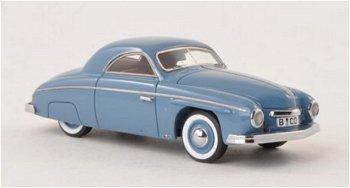 Modellauto:VW Rometsch Beeskow Coupé, blau-grau(NEO, 1:43)