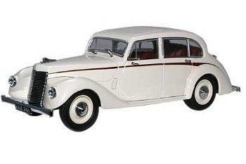 Modellauto:Armstrong Siddeley Lancaster, creme(Oxford, 1:43)