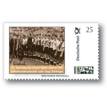 50. Jahrestag des letzten Spiels unserer Fußballnationalmannschaft unter Sepp Herberger - Marke Indi
