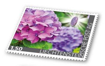 Edelsteine der Philatelie: LEPIDOLITH-Briefmarke postfrisch, Liechtenstein