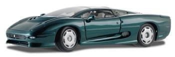 Modellauto:Jaguar XJ 220, grün-metallic(Maisto, 1:18)