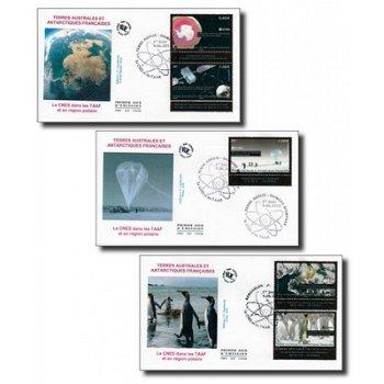 Polarregionen / Pinguine - 3 Ersttagsbriefe, TAAF