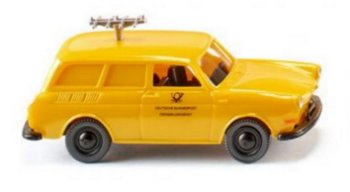 Modellauto:VW 1600 Variant - Funkmesswagen -(Wiking, 1:87)