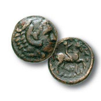 Historische Münze - Bronze aus Makedonien, Kassander
