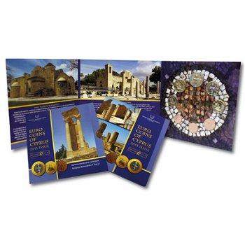 Kursmünzensatz 2015, Religiöse Bauwerke/Aphrodite, Zypern