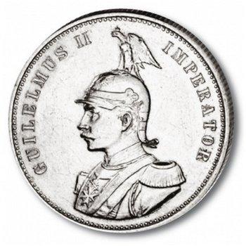 1 Rupie Münze, Deutsch-Ostafrika, Katalog-Nr. 722, Deutsche Kolonien