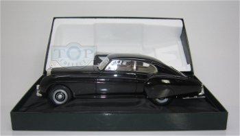 Modellauto:Bentley R-Type Continental von 1954, schwarz(Minichamps, 1:18)