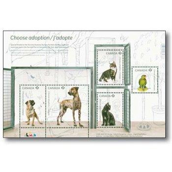 Ein neues Heim für Tiere - Briefmarken-Block postfrisch, Monaco