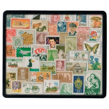 Postage Stamp Mouse Pad - Modern