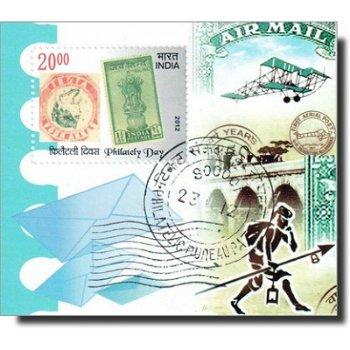 Tag der Philatelie - Briefmarken-Block gestempelt, Katalog-Nr. 2669 Bl. 103, Indien
