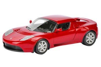 Modellauto:Tesla Roadster Hardtop, rot(Schuco/PRO.R43, 1:43)