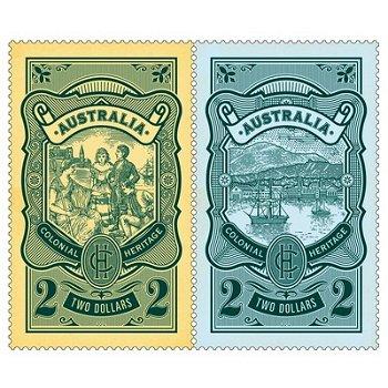 Koloniales Erbe – Briefmarken postfrisch, Katalog-Nr. 3754 I A-3755 I A, Australien