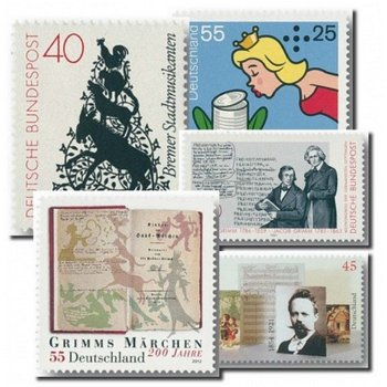 Fairy tale - 5 stamps mint never hinged, Germany