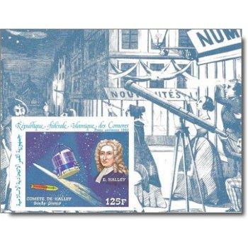 Halleyscher Komet - 5 Luxusblocks postfrisch, Katalog-Nr. 772-776, Komoren