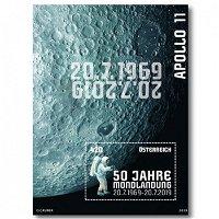 50 Jahre Mondlandung - Block postfrisch, Österreich