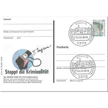 """5300 Bonn - Bildpostkarte """"Stoppt die Kriminalität"""""""