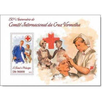 Rotes Kreuz, Briefmarken-Block postfrisch, St. Thomas