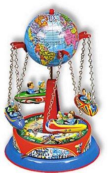 Blechmodell:Globus Ketten Karussell, W 540(Wilesco)
