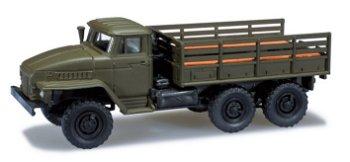 Modell-LKW:Ural MAN Pritschen-LKW(Herpa, 1:87)