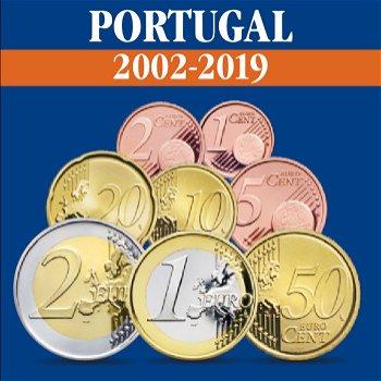 Portugal - Kursmünzensätze alle Jahrgänge 2002-2019