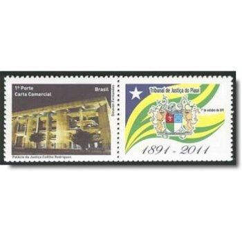 120 Jahre Gericht von Piauí - Briefmarke postfrisch, Brasilien