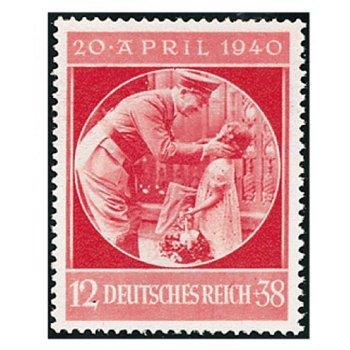 51. Geburtstag von Adolf Hitler - Briefmarke, Katalog-Nr. 744, postfrisch, Deutsches Reich