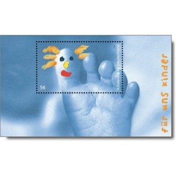 Für uns Kinder 2002, Block 60 postfrisch, Katalog-Nr. 2280, Bundesrepublik