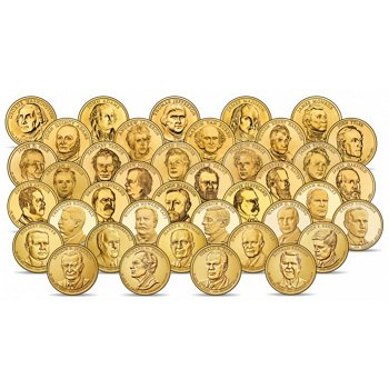 Präsidentendollar, Die Sammlung, USA