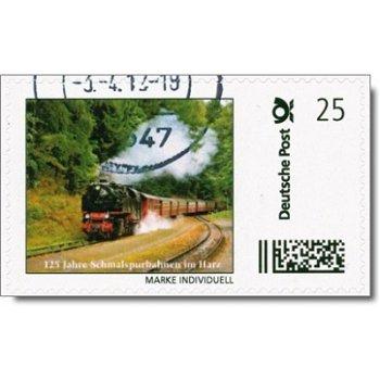 Deutsche Eisenbahn, Schmalspurbahn im Harz III - Marke Individuell gestempelt