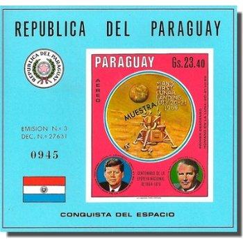 Wernher von Braun - Briefmarken-Block postfrisch, ungezähnt, Katalog-Nr. 2016 Bl. 138, Paraguay