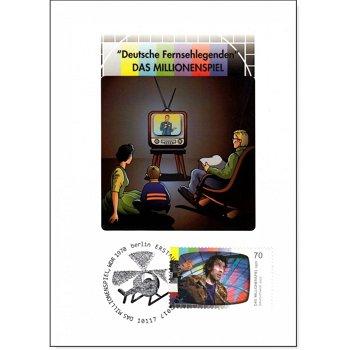 Deutsche Fernsehlegenden - Das Millionenspiel - Maximumkarte gestempelt, Deutschland