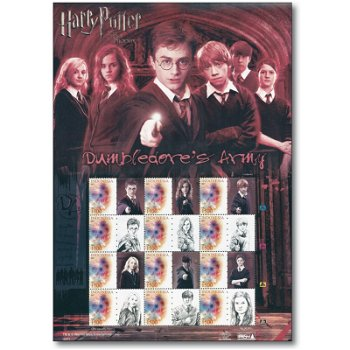 Harry Potter und der Orden des Phoenix: Dumbledores Armee - Großbogen postfrisch, Indonesien