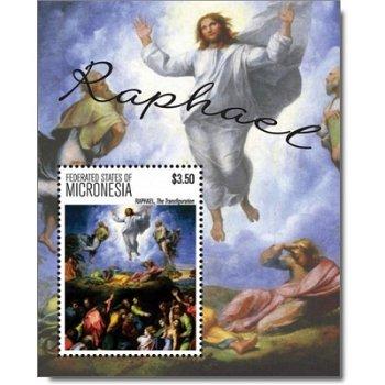 Raffael - Briefmarken-Block postfrisch, Micronesien