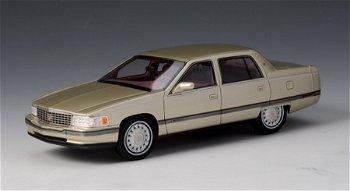 Modellauto:Cadillac Sedan De Ville von 1994, gold-metallic(GLM, 1:43)