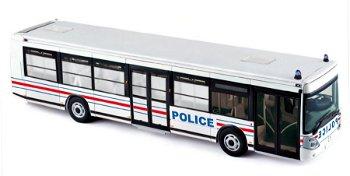 Modell-Bus:Irisbus - Police - von 2008(Norev, 1:43)