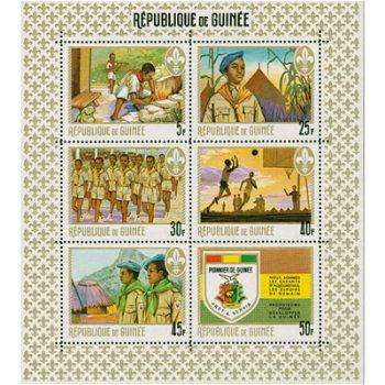 Wir sind die Kinder von heute - Briefmarken-Block postfrisch, Guinea