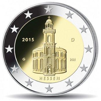 2-Euro-Münze 2015 - Paulskirche Frankfurt/Hessen, Deutschland