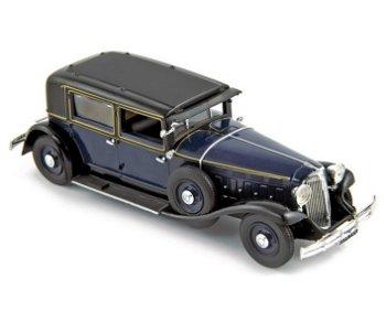 Modellauto:Renault Type RM 2 Reinastella von 1932, dunkelblau(Norev, 1:43)