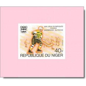 Olympische Winterspiele 1976 - 5 Luxusblocks postfrisch, Katalog-Nr. 506-510, Niger