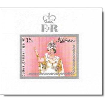 25 Jahre Regentschaft von Königin Elisabeth II. - 3 Luxusblocks postfrisch, Katalog-Nr. 1038 B-1040