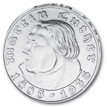 2 Reichsmark, Martin Luther, Katalog-Nr. 352, Deutsches Reich